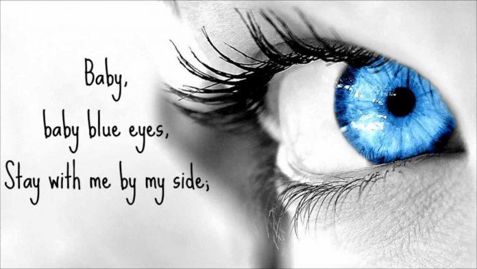 Baby, Blue Eyes - A Rocket to the Moon LYRICS